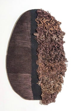 Textile Sculpture: 'Outer Wear: Brown'