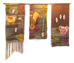 Textile Handwoven Wall Hanging: 'Pelvic Thrust'