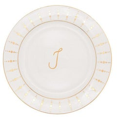 Julietta Dinner Plate by Julia B.