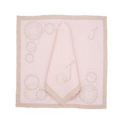 Julietta Tisch Leinen von Julia B. 'Pink'