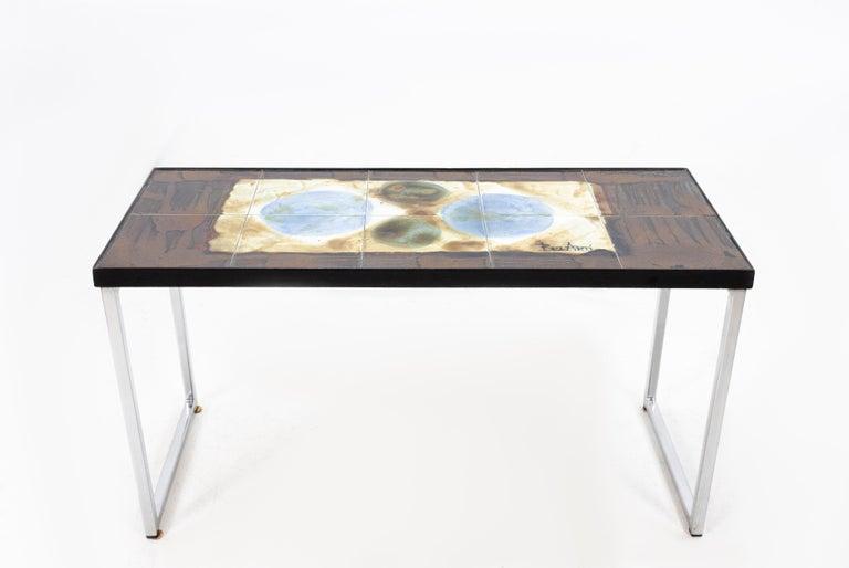 Chrome Juliette Belarti Side Table For Sale