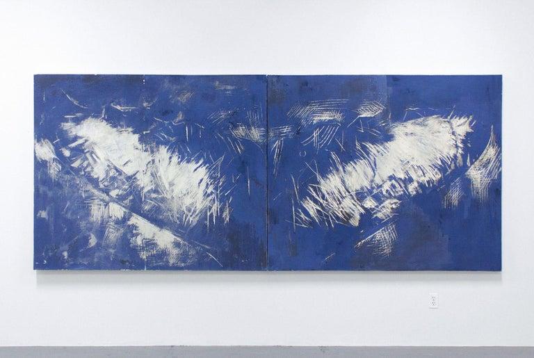 JULIETTE DUMAS, Whale Fluke (Le Grand Bleu), 2018 5