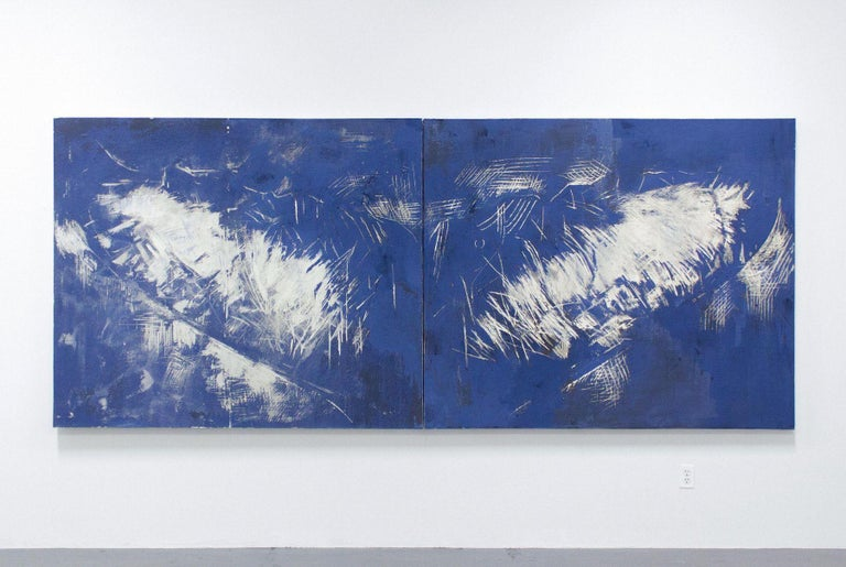 JULIETTE DUMAS, Whale Fluke (Le Grand Bleu), 2018 1