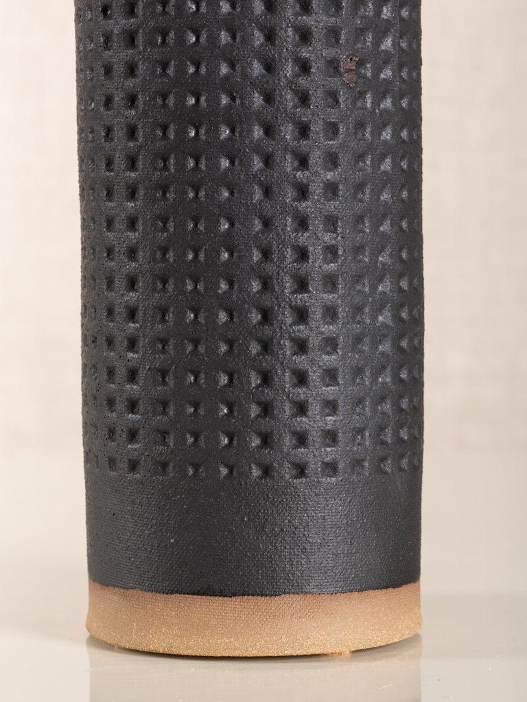 Modern Juliette Lamp, Ceramic Sculptural Table Lamp by Dumais Made For Sale