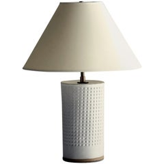 Juliette Lamp Short, Ceramic Sculptural Table Lamp by Dumais Made