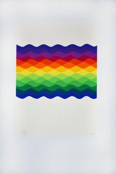 Untitled - 1980s - Original Silkscreen by Julio Le Parc - 1977