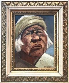 """""""Modernist Portrait """" Oil Painting on Canvas"""