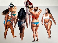 We Will Do It - Large Format Painting, Contemporary Figurative Oil Painting