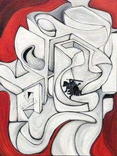 Rhetoric, Painting, Oil on Canvas