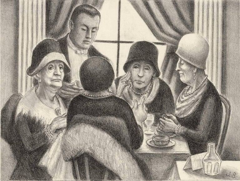 Members of the Welfare Board (satirical take on wealthy women of depression era)