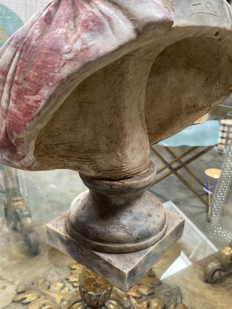 Marble Julius Caesar Bust Sculpture , 20th Century For Sale