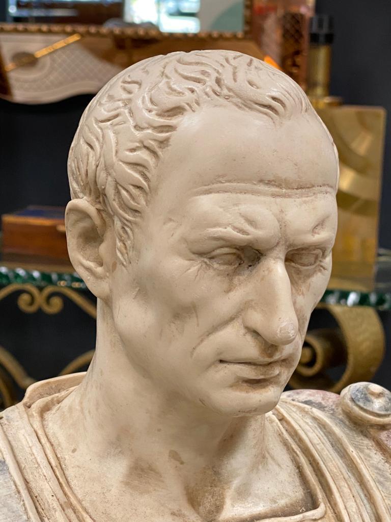 Julius Caesar Bust Sculpture , 20th Century For Sale 1