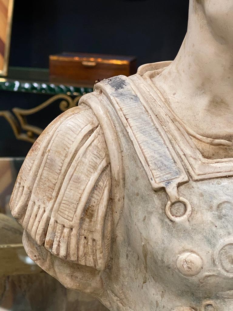 Julius Caesar Bust Sculpture , 20th Century For Sale 2