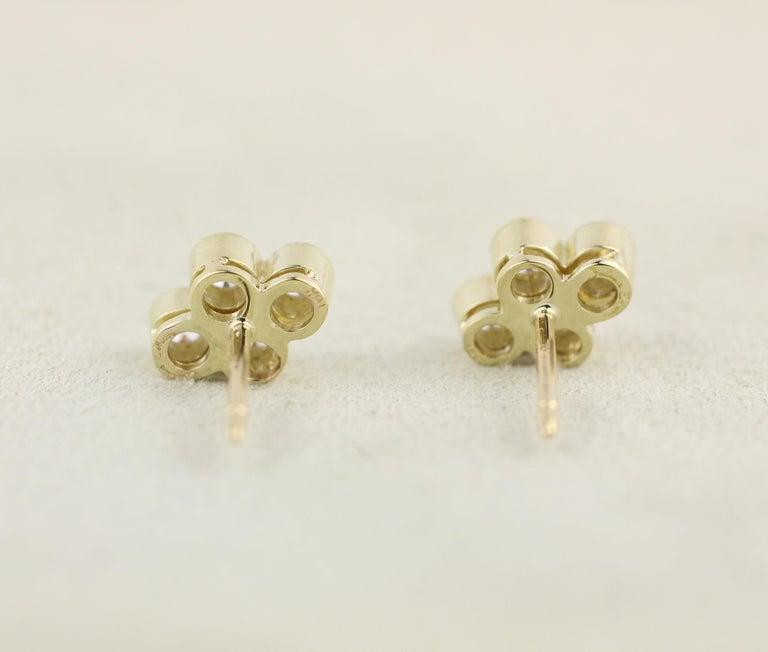 Contemporary Julius Cohen Diamond Town Earrings For Sale