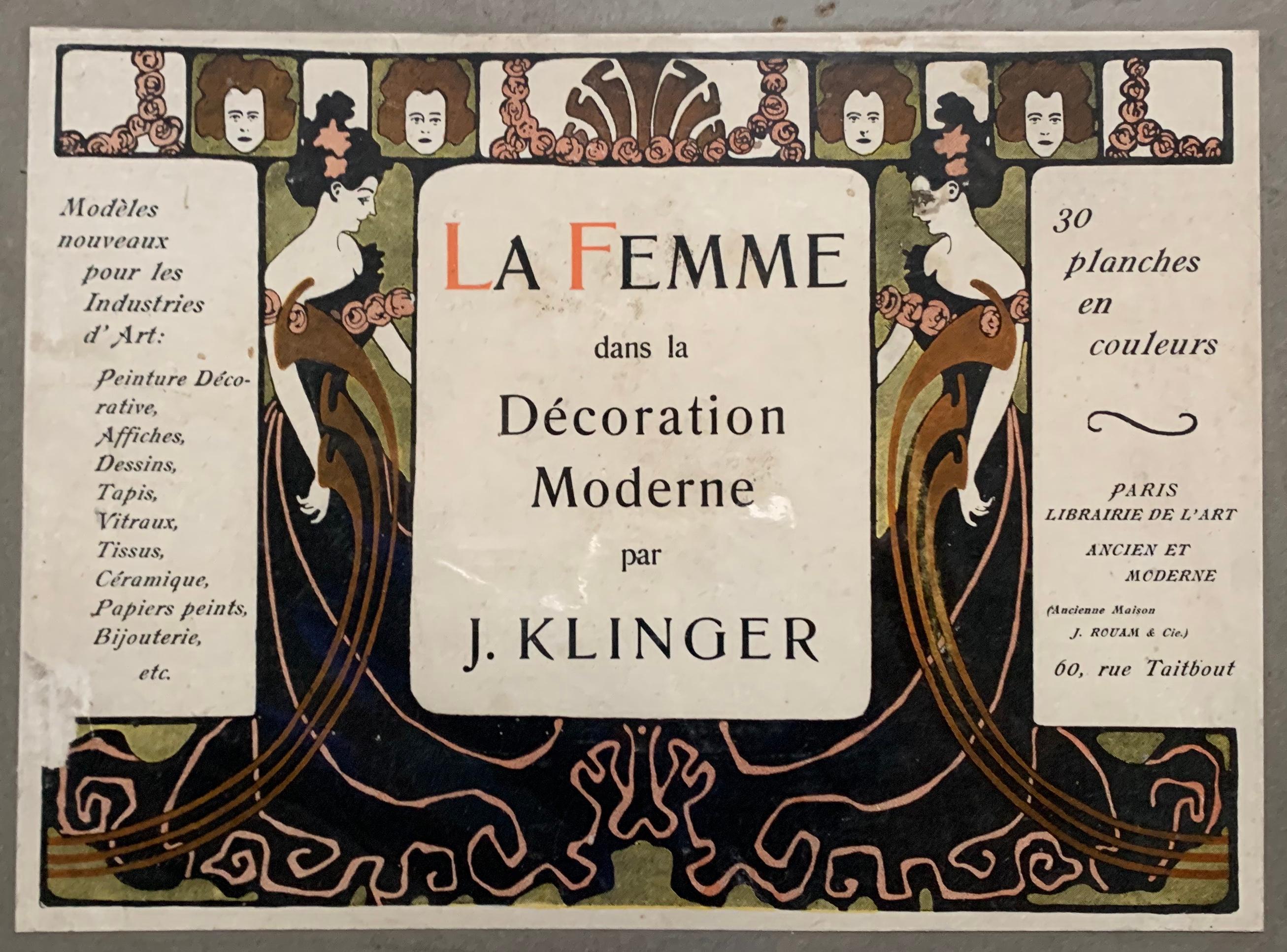 La Femme dans la Decoration Moderne