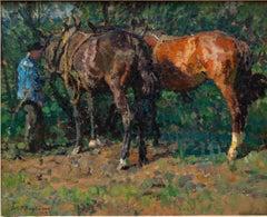 """""""In June (Im Juni)"""" By Julius Paul Junghanns dated """"1913"""""""