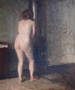 NUDE SEEN FROM THE BACK