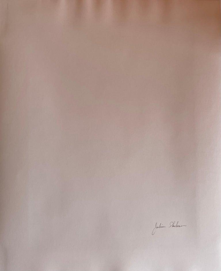 Julius Schulman Signed Black & White Photograph, Von Sternberg House In Good Condition For Sale In San Diego, CA