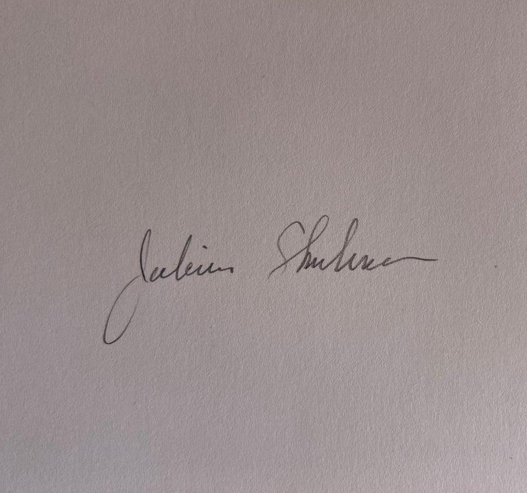20th Century Julius Schulman Signed Black & White Photograph, Von Sternberg House For Sale