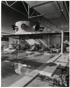 Shulman, Albert Frey Frey House, Palm Springs, CA, Black & White Photography