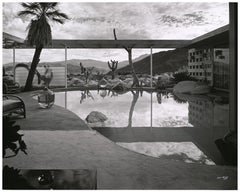 Shulman, Albert Frey Loewy House, Palm Springs, CA, Black and White Photography
