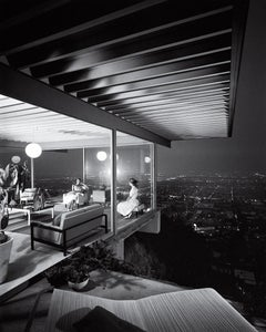 Case Study House No. 22, Los Angeles, Pierre Koenig, Architect, 1960