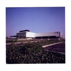 """""""CBS Studios"""". Fairfax District, Los Angeles, California. William L. Pereira."""