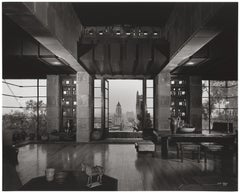 Shulman, Frank Lloyd Wright, Freeman House, LA, Black & White Photography