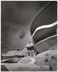 Shulman, John Lautner Arango House, Acapulco, Mexico, Black & White Photography