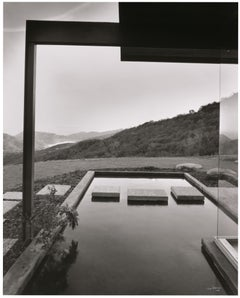 Shulman, Neutra Singleton House, Los Angeles, CA, Black & White Photography