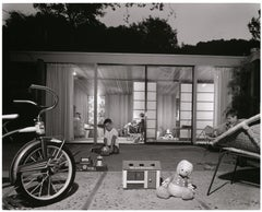 Shulman, Skinner, Skinner House, Beverly Hills, CA, Black & White Photography