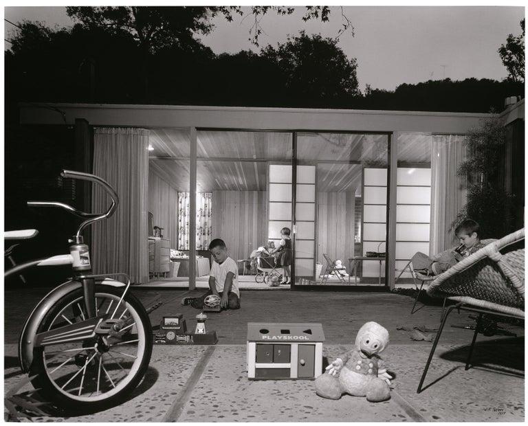Julius Shulman Landscape Photograph - Robert Skinner Skinner House, Beverly Hills, California