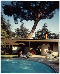 Shulman, Buff, Straub, Hensman. Case Study House #20, Colour Photography