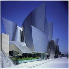 """The Disney Concert Hall"" Los Angeles, California. Frank Gehry"