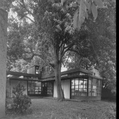 """""""The Schindler House"""" Los Angeles, California. Rudolph M. Shindler"""