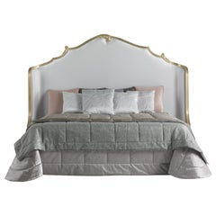 Jumbo Collection Annecy Bed in Wood and Fabric
