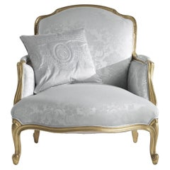 Jumbo Collection Bienvenue Armchair in Wood and Fabric