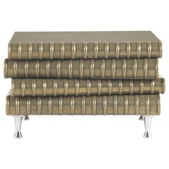 Jumbo Collection Book Side Table in Wood