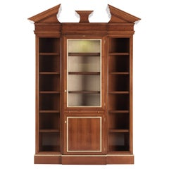 Jumbo Collection Etoile Showcase in Wood and Onyx Top