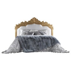 Jumbo Collection Fragonard Bed in Wood and Fabric