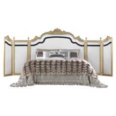 Jumbo Collection Orpheus Bed in Wood and Fabric