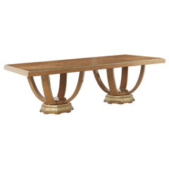 Jumbo Collection Pleasure 2 Base Dining Table in Wood
