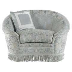 Jumbo Collection Pleasure Armchair in Wood and Fabric