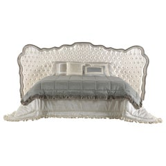 Jumbo Collection Pleasure Bed in Wood and Fabric
