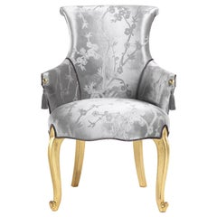Jumbo Collection Rivoli Chair in Wood and Fabric