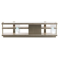 Jumbo Collection Shinto TV Unit in Wood and Marble