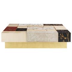 Jumbo Collection Ukiyo Rectangular Center Table in Wood