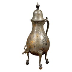 Jumbo Early 19th Century English Coffee Urn in Original Finish
