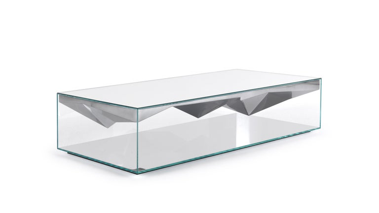 Modern JCP Universe Dolmlod Coffee Table 'Rectangular' by Samer Alameen For Sale
