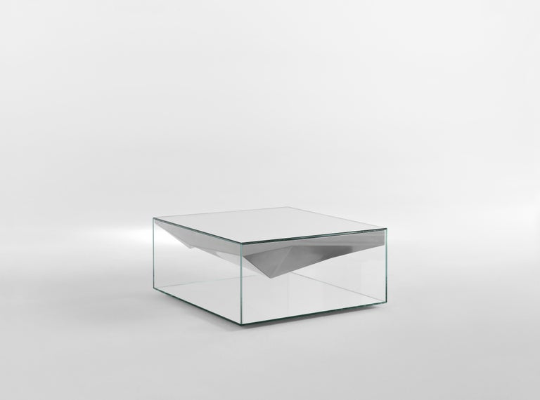 Modern JCP Universe Dolmlod Coffee Table 'Square' by Samer Alameen For Sale